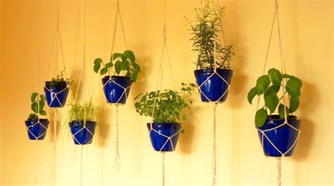 Hanging Bookshelf 15 phenomenal indoor herb gardens