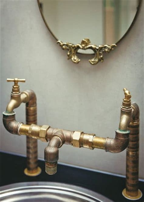 Recycled Plumbing Fixtures by 36 Recycled Scrap Metal Into Furniture Project Ideas