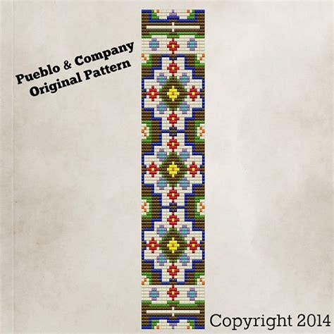 flower bead loom patterns bohemian flower garden bead loom pattern beaded