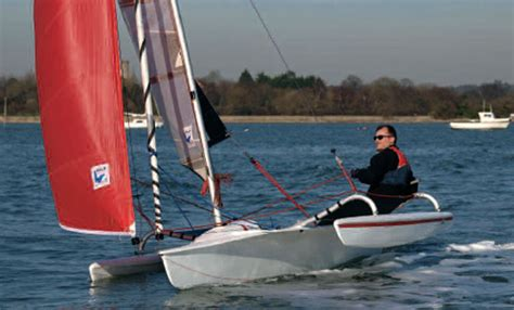 trimaran review astus 14 1 review yachts and yachting