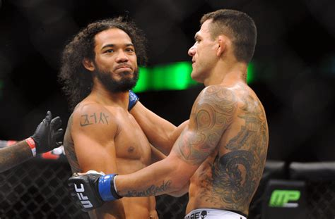 benson henderson back tattoo benson henderson rafael dos anjos ufc fight 49