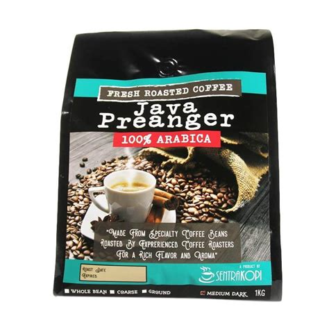 Sentra Kopi jual sentra kopi java preanger arabica ground coffee kopi