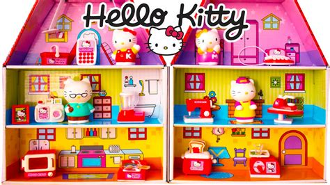 hello kitty wooden dolls house image gallery hello kitty doll house