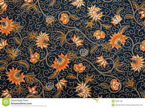 pattern batik flower beautiful batik pattern royalty free stock image image