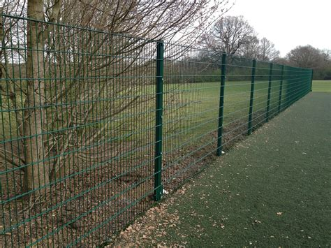 steel wire fence pvc coated steel mesh fencing wire galvanised nail square metal fence posts new ebay