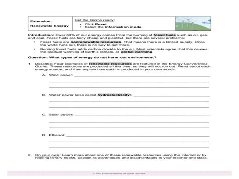 Energy Conversions Worksheet by Uncategorized Energy Transformation Worksheet Answers