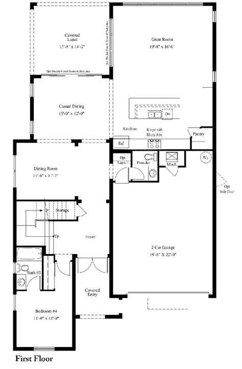 standard pacific floor plans standard pacific homes floor plans