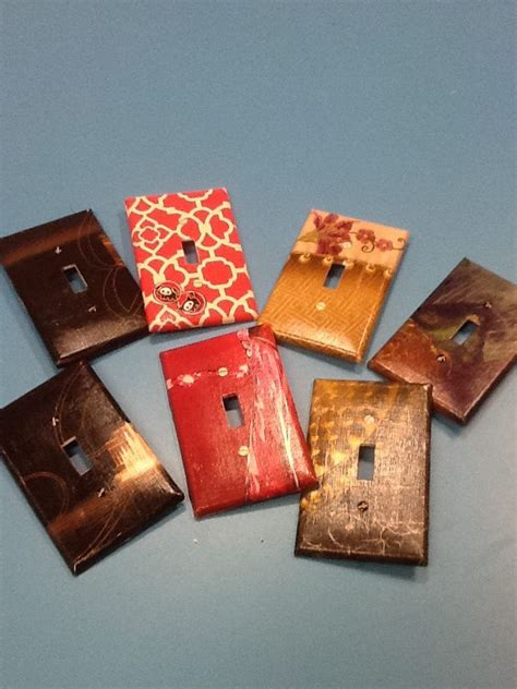 Decoupage Light Switch Covers - light switches decoupage and light switch covers on