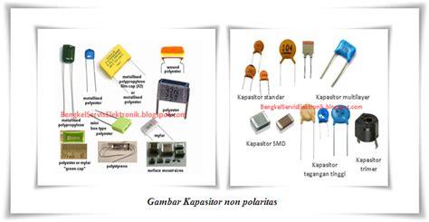 satuan kapasitor milar bengkel service elektronik komponen elektronika aktif dan pasif
