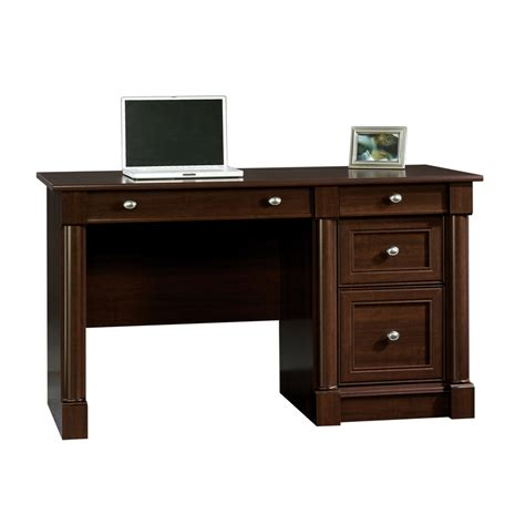 sauder computer desk reviews shop sauder palladia traditional computer desk at lowes com