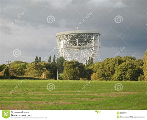 hshire bank lovell telescope jodrell bank stock image image 28222751