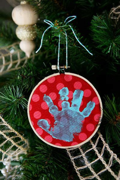 make a baby handprint ornament 187 dollar store crafts