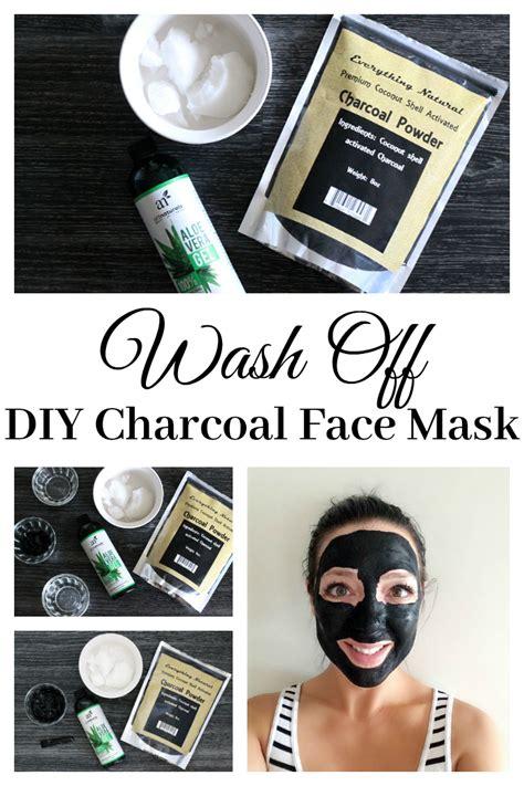 diy charcoal mask wash diy charcoal mask couponing