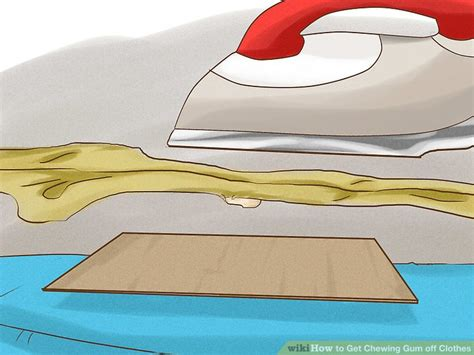 5 ways to get chewing gum off clothes wikihow