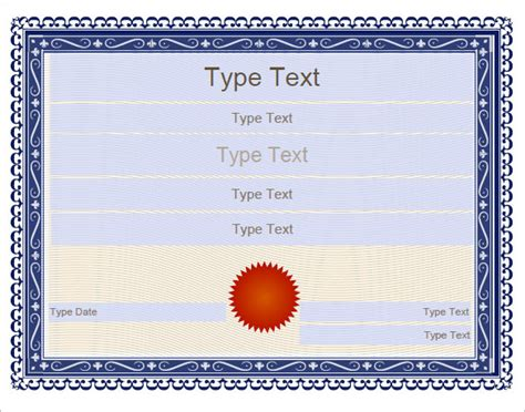 free educational certificate templates sle certificate templates 22 free word pdf