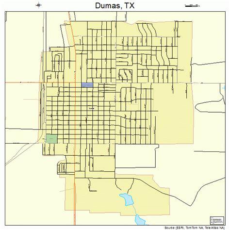 map of dumas texas dumas texas map 4821556