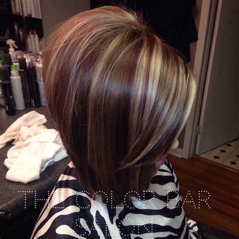 bobs with color bob lowlights and hair and