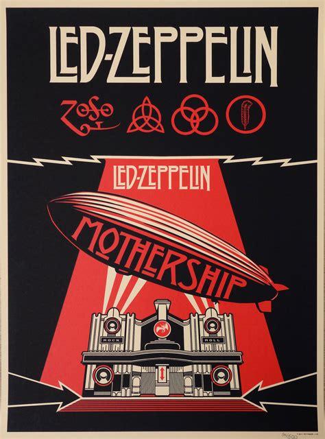 z obey led zeppelin mothership graffitiprints