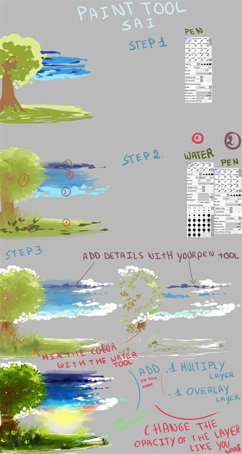 paint tool sai draw tutorial background tutorial with sai by kirimimi on deviantart