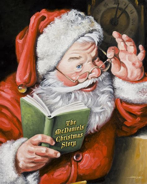 painting santa claus personalized santa painting are on lower