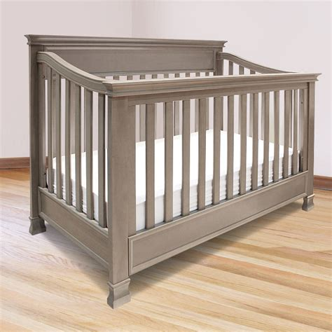 Grey Baby Crib Davinci 2 Nursery Set Emily 4 In 1 Convertible Crib And 3 Bed Mattress Sale