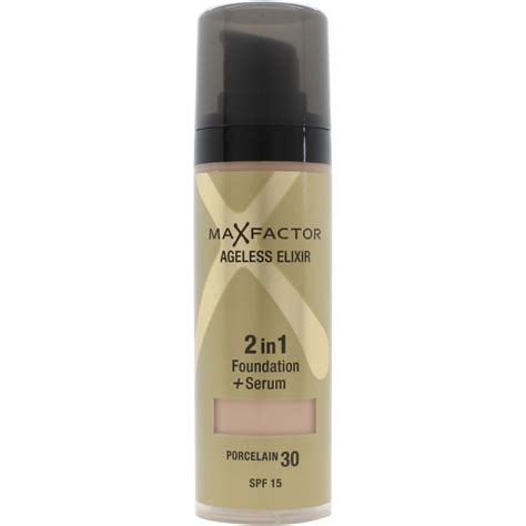 Foundation Max Factor 2 In 1 max factor ageless elixir 2 in 1 spf15 30 porcelain 30