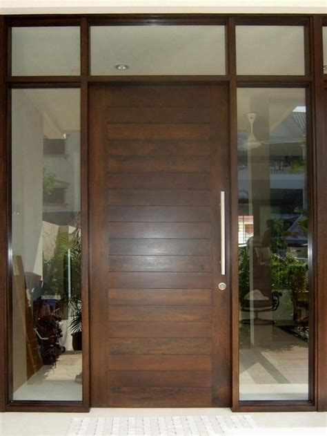 wooden door design for house minimalist door models that are popular this year 4 home ideas