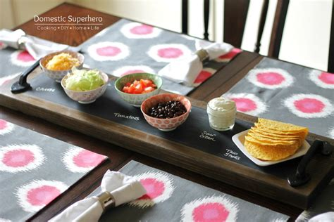 diy chalkboard tray diy chalkboard serving tray domestic