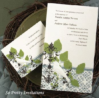 In The Spirit Of The Season Wedding Invitation Wording by May 2012 So Pretty Invitations And Greeting Cards