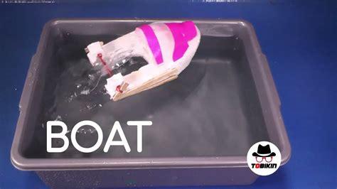 Gelang Sendok membuat kapal tenaga karet gelang sendok rubber band