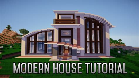 how to build a house how to build a modern house in mcpe youtube