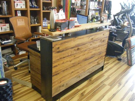 Buy a Hand Made #4 Reclaimed Distressed Wood Reception