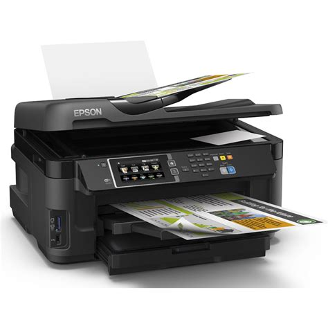 Printer Epson A3 Inkjet epson workforce wf 7610dwf a3 colour multifunction inkjet