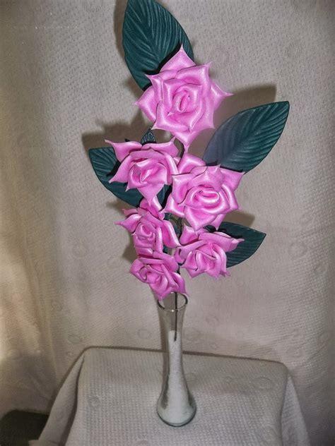 como aser centrovd meza d goma eva flores en goma eva centro de mesa de rosas