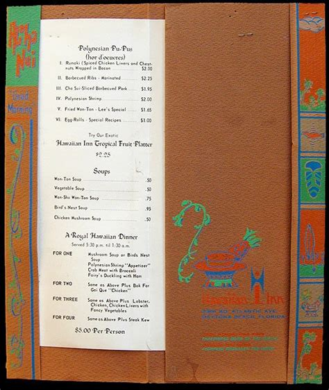 Tiki Hut Menu 17 Best Images About Tiki Hut On Menu Covers