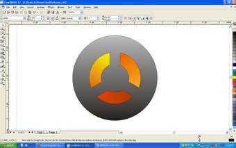 tutorial logo ubuntu coreldraw tutorial coreldraw desain logo grafis corporate identity