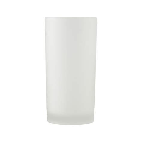 Sb 0376 Yellow frosted white votive holder 5 quot high rentals bright rentals