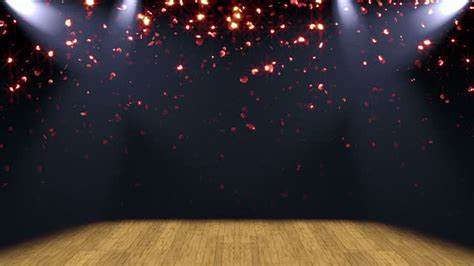 Curtain Dancing Stage Lights Glitter Background Loop Stock Footage