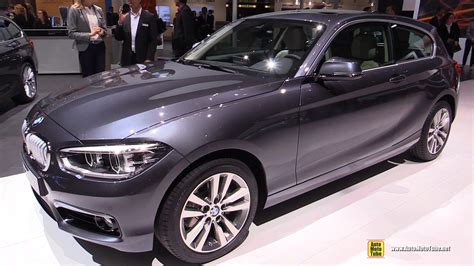 Bmw 1er 2017 Interior by 2016 Bmw 1 Series 120d Xdrive Exterior And Interior