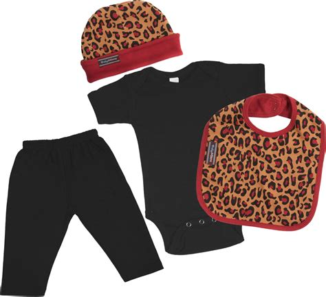 Trendy baby clothes leopard print baby n toddler