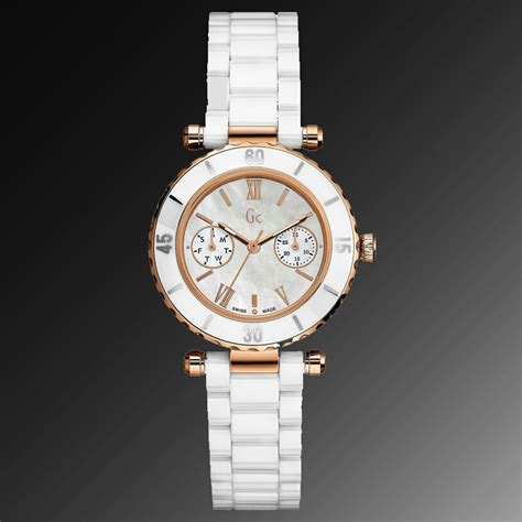 Guess Collection Gold new guess collection gc gold white ceramic
