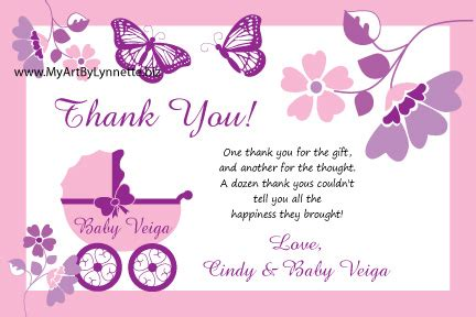 Baby Shower Thank You Wording Sles thank you wording baby shower gifts monarch butterfly buggy baby shower invitation baby