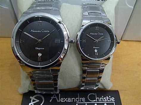 Promo Alexandre Christie Ac 8526 Wanita Silver Black Original promo jam tangan alexandre christie ac8434