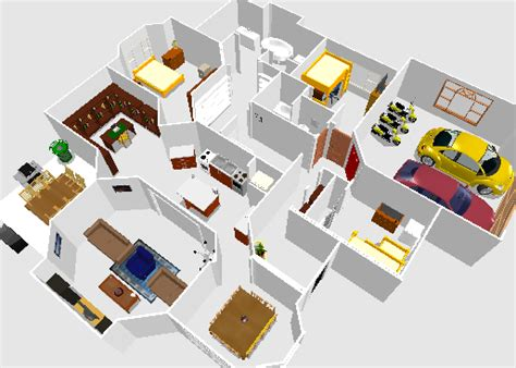khs sweet home 3d floor plan design