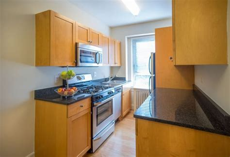kitchen features the delano luxury apartments in woodley park keener