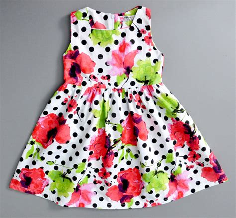 Dress Baby Motif Flower And Polkadot 9 15 Bln Available 3 Color aliexpress buy polka dots dress children clothing baby brand toddler dresses new