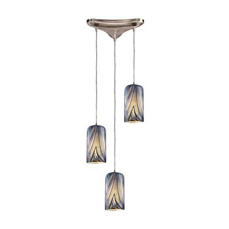 Multi Shade Pendant Light Modern Multi Light Pendant Light With Multi Color Glass And 3 Lights 544 3mo Destination