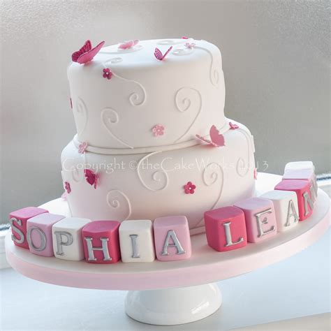 Christening Cakes by Wedding Cakes Birthday Cakes Christening Cakes