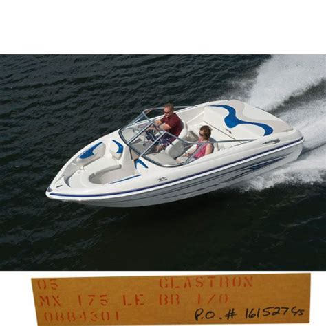 glastron boats covers glastron 0884301 gry 2005 mx 175 le br i o boat cover