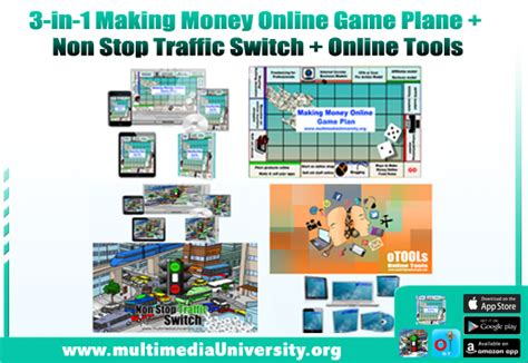 Money Making Games Online - 3 in 1 quot making money online game plan quot quot non stop traffic switch quot ecourses quot otools